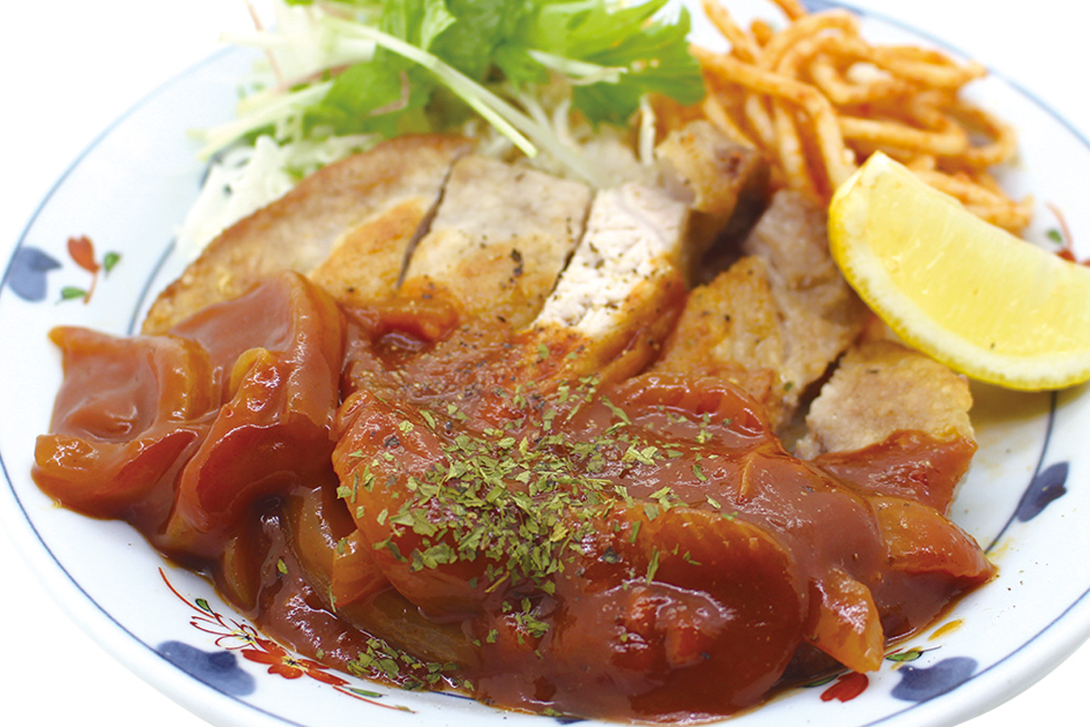 石垣牛赤身ステーキ定食