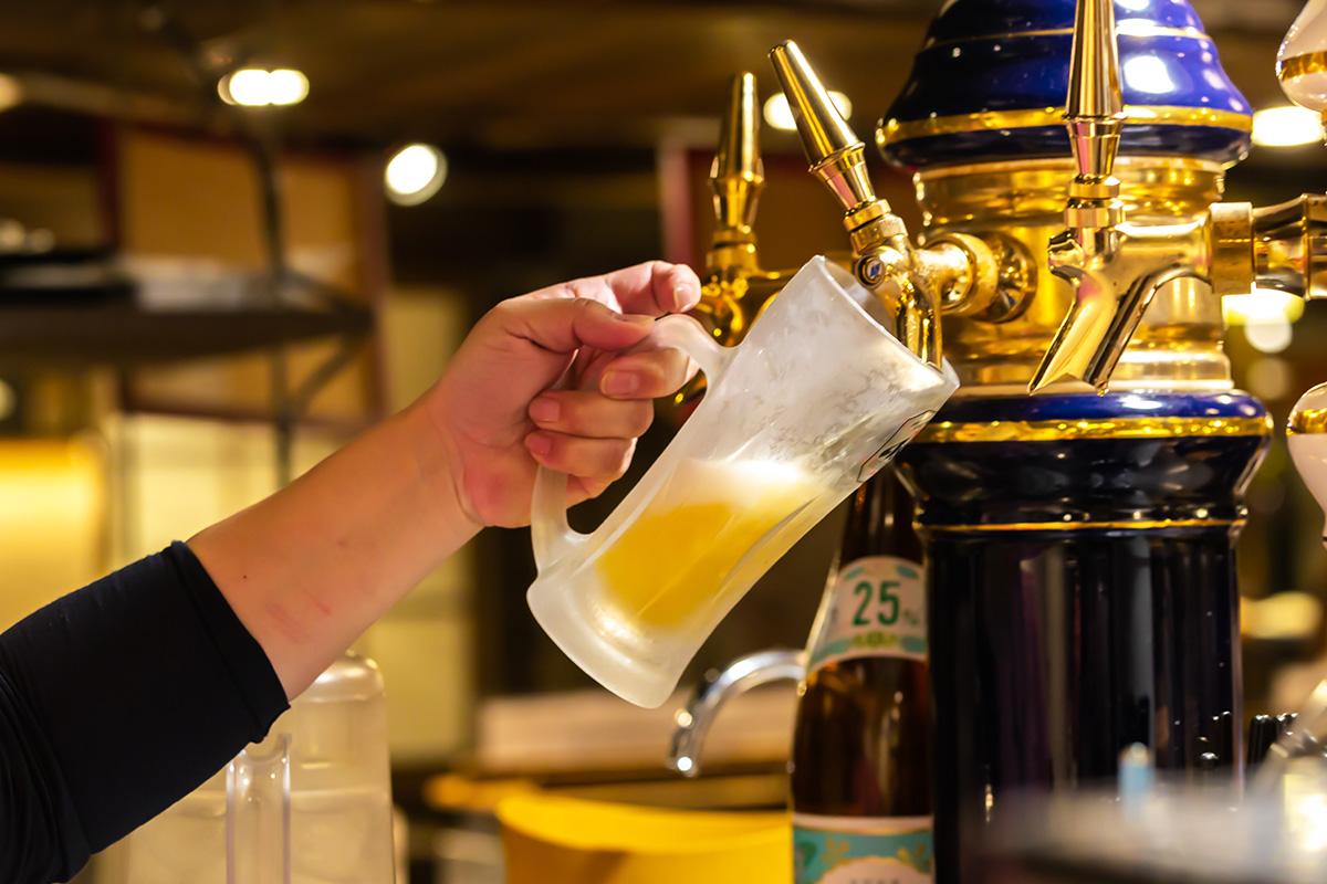 生ビール | グリル異人館
